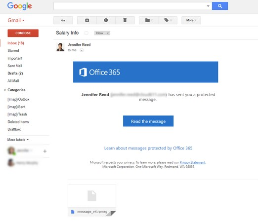 Gmail encryption