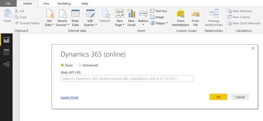 How to Connect to Dynamics 365 with Power BI Desktop - dummies