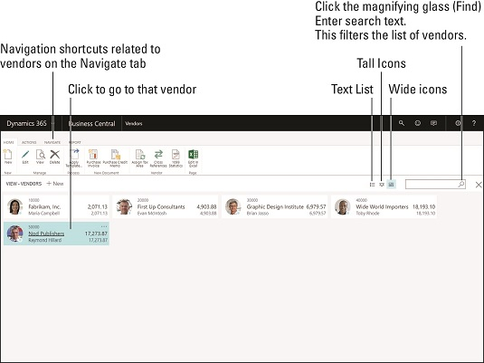 Navigating in Dynamics 365 Business Central - dummies