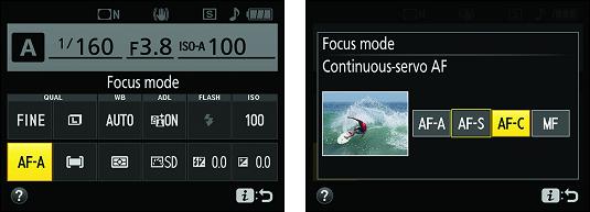 Nokon D3500 information display control strip
