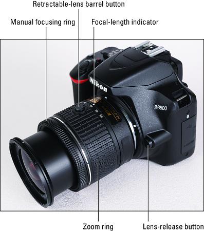 Nikon D3500 AF_P lens kit