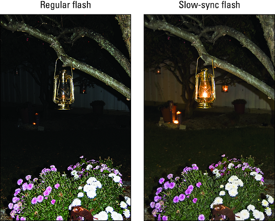 Slow-Sync flash Nikon D3500