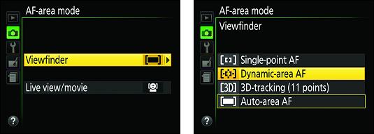 Nikon D3500 viewfinder focusing