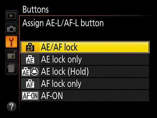 Nikon D3500 viewfinder functions