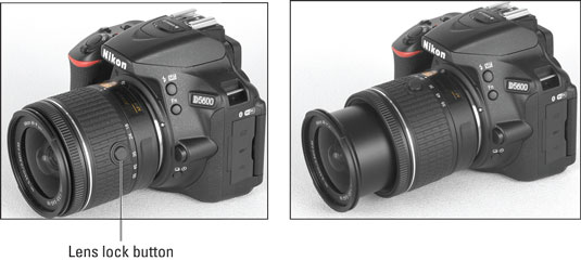 Preparing the Nikon D5600 Camera for Initial Use - dummies