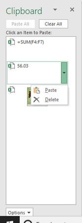 Office clipboard