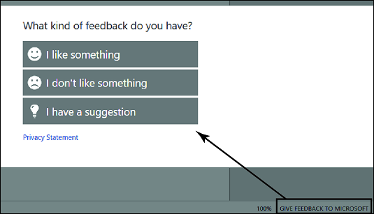 Help Improve Office feedback form