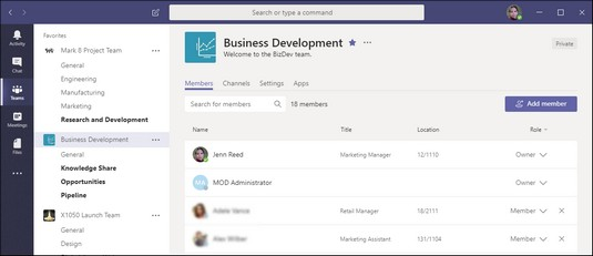 How to Use Microsoft Teams - dummies