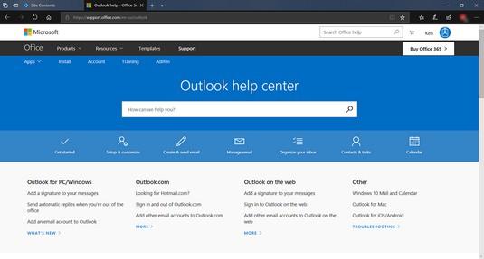 Outlook Help Center