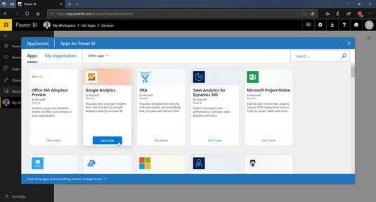 Power BI data Office 365