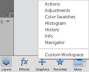 photoshop-elements-15-additional-panels