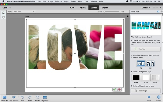 how to use layers in photoshop elements 15
