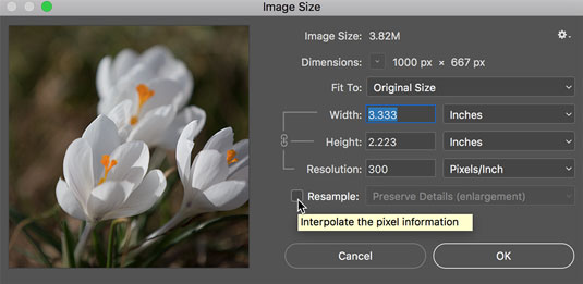 how to change resolution of a image in photoshop