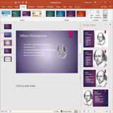 powerpoint-design-ideas-pane-feature