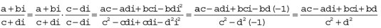 pre-calculus-complex-number-fractions