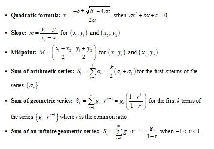 pre-calculus-formulas