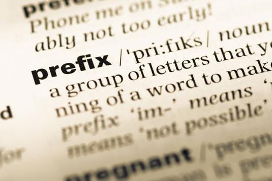prefix illustration