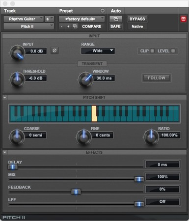 Playing with Pro Tools Plug-ins - dummies