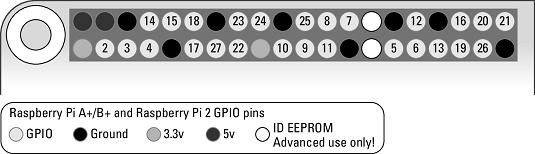 Raspberry Pi GPIO pins