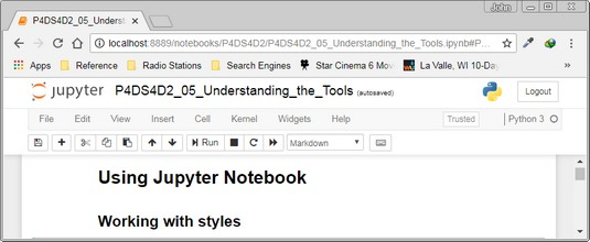 Tips for Using Jupyter Notebook for Python Programming - dummies