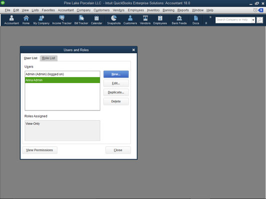 How to Change User Rights in QuickBooks 2018 Enterprise