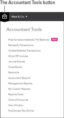 QBOA accountant tools