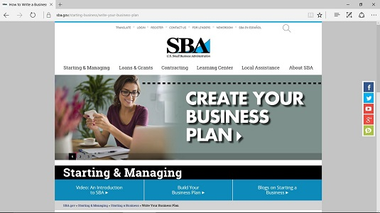 writing a business plan for dummies Free online business plan writing app easy, fast and free write and download a complete business plan, with performance score and report card.