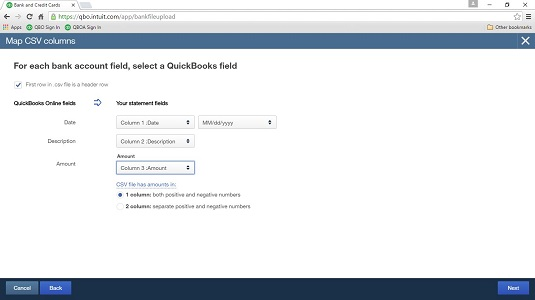 How to Import Bank Transactions into QuickBooks Online via
