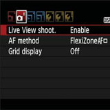 rebel-t7-live-view-shoot-menu-feature