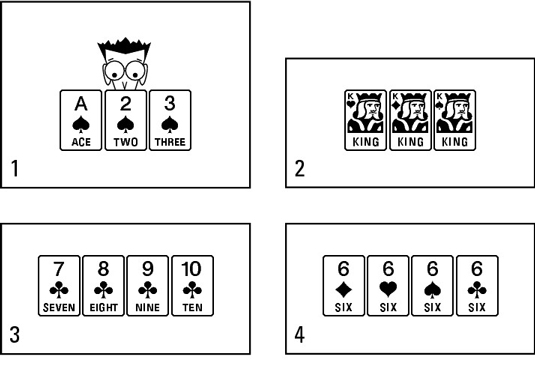 rummy legal hands runs and sets