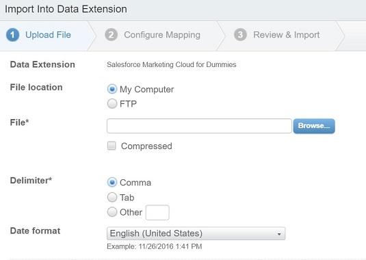 Salesforce Marketing Cloud delimiter