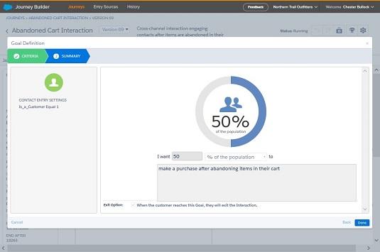 Salesforce Marketing Cloud journey