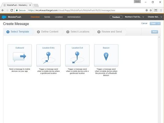 Salesforce Marketing Cloud MobilePush
