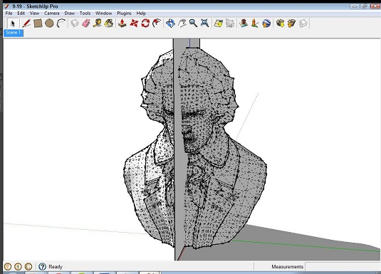 sketchup's cutter object