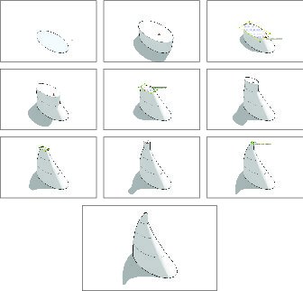 making organic forms in sketchup