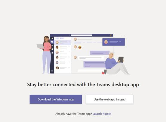 Teams Web