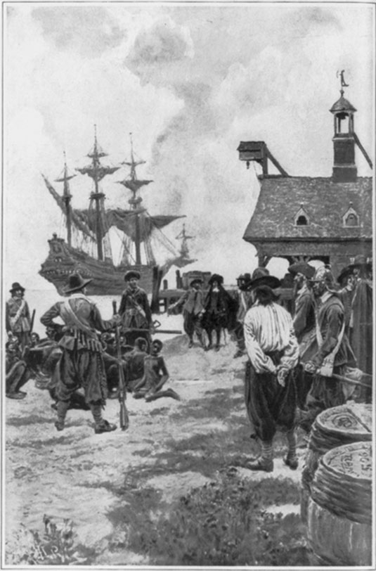 First American slave ship