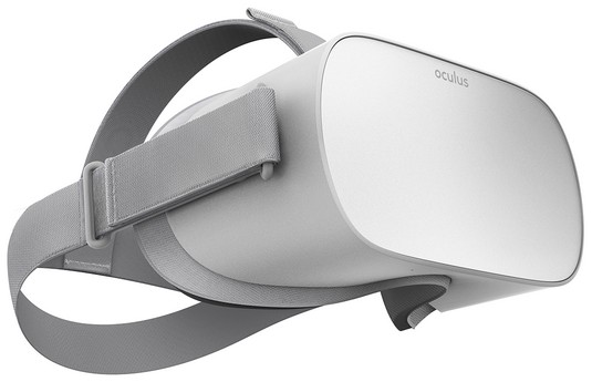 Virtual reality device Oculus GO