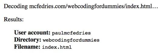 server processes page request