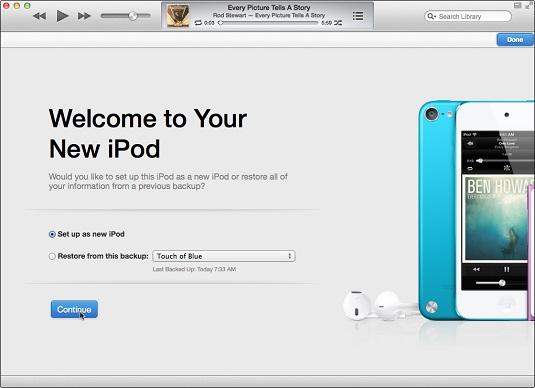 welcome ipod