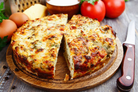 Seafood Quiche Easy To Prepare Family Meal For Weight