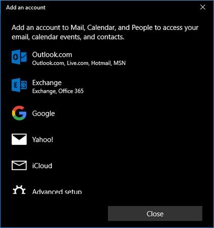 Windows 10 People
