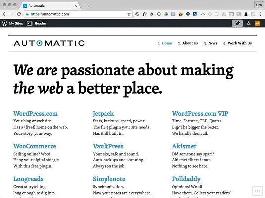 automattic website