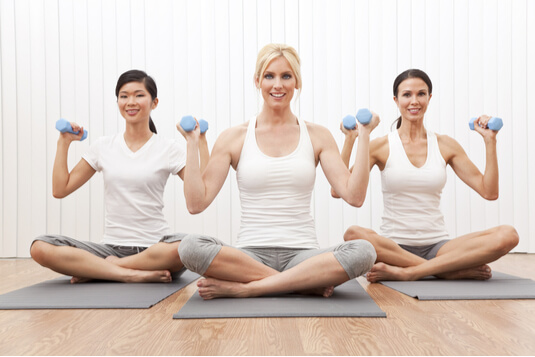 Yoga With Weights What You Need To Get Started Dummies